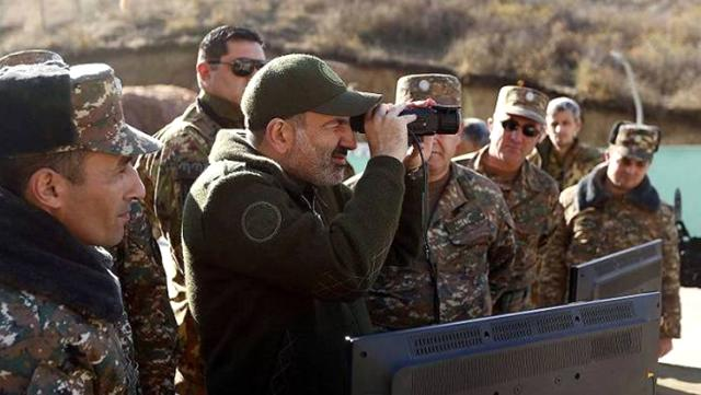 Dağlık Karabağ'da yenilgiyi hazmedemeyen Ermenistan'dan Türkiye'ye küstah tehdit