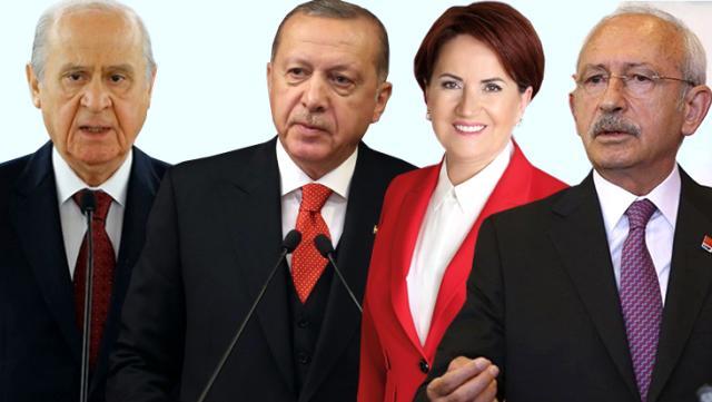 Türkiye Son seçim anketinde dikkat çeken sonuçlar