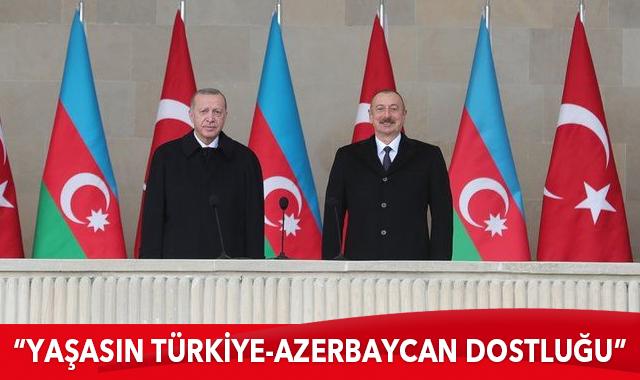 Büyük Türk Birliği Yolunda : Azerbaycan vatan topraklarının işgalden kurtarılma zaferi kutlu olsun