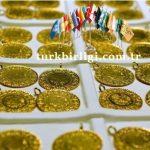 Yeni Güne yükselişle başlayan altının gram fiyatı 442,5 Türk lirasından işlem görüyor