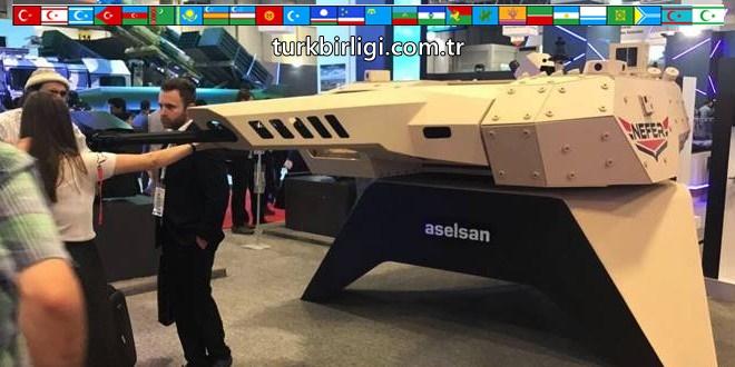 Aselsan, zırhlı muharebe aracı için yeni silah ve kabiliyetleri görücüye çıkardı