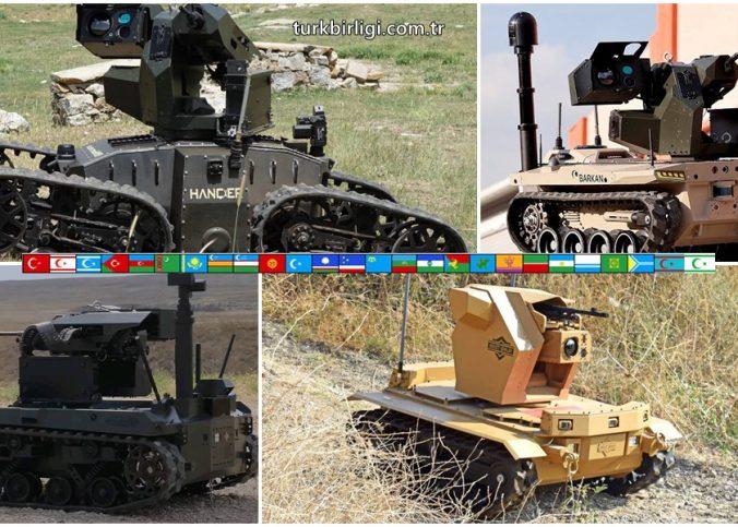 Dört robotik araç, Türk Silahlı Kuvvetleri sözleşmesi için yarışıyor
